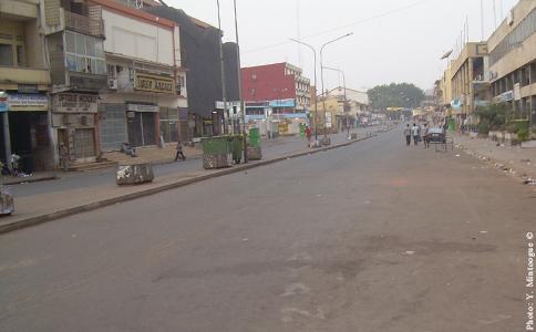 Yaoundé, février 2008. Photo © Y. Mintoogue