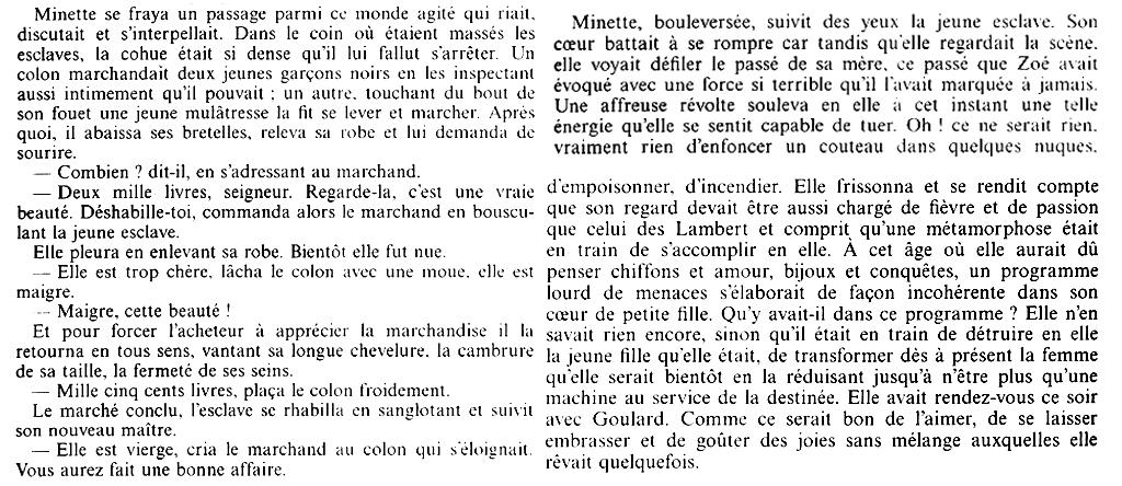 """Extrait de """"La Danse sur le volcan"""", de Marie Vieux-Chauvet"""
