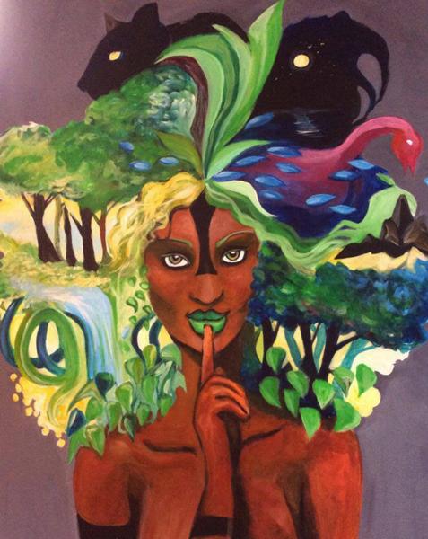 Je ne suis pas un déguisement - Afrospirit AfroRoots  (© Annia Drawing)