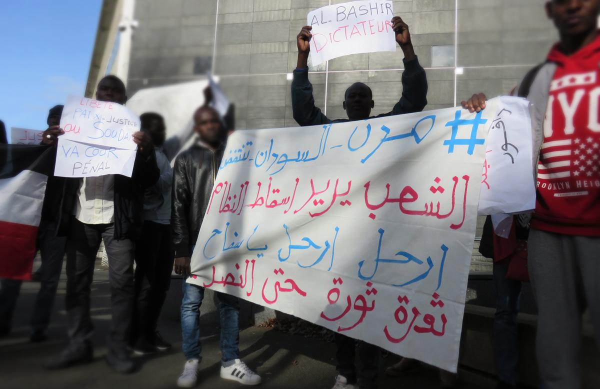Mobilisation soutien à la Révolution soudanaise