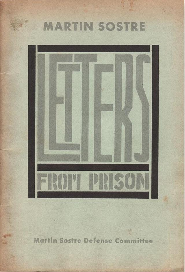 Letters from prison, Martin Sostre, 1967.